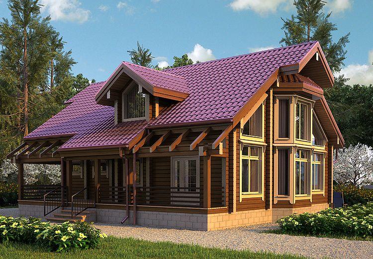 Особенности возведения домов из клееного бруса