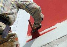 Краски, используемые для фасадов деревянных домов