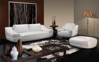 Кожаная мягкая мебель – универсальное решение для любого интерьера
