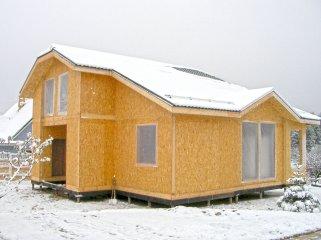 Основные принципы возведения домов из СИП-панелей