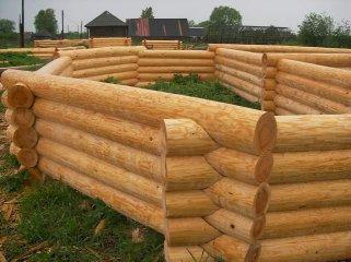 Этапы строительства дома из сруба