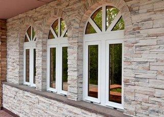 Металлопластиковые окна нестандартной формы и их применение