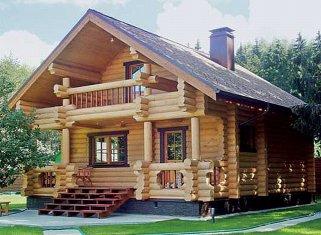 Из чего строят деревянные дома?