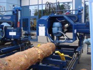 Какие строительные инструменты используются для радиального распила бревен
