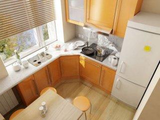 Как маленькую кухню сделать удобной и просторной?