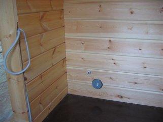 Монтаж инженерных коммуникаций в деревянном доме