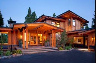 Мода на деревянные дома в современном строительстве