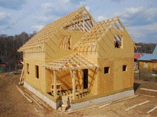Особенности каркасных домов из СИП панелей