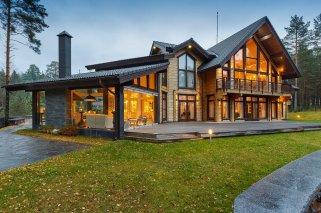 Особенности строительства домов из цельного и профилированного бруса