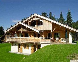 Особенности домов, построенных в стиле Шале