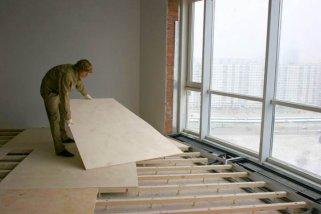 Использование фанеры при строительных и отделочных работах