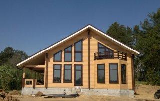 Строительство дома из клееного бруса – прекрасное решение для жизни и отдыха
