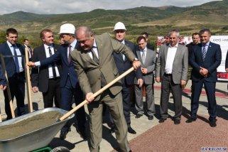 В Южной Осетии началось строительство завода мясных полуфабрикатов