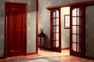 Двери межкомнатные: конструкция-книжка и ее преимущества