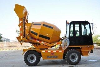Самозагрузочные бетономиксеры упрощают процесс приготовления бетона