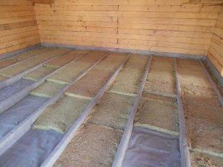 Утепление деревянного пола: с чего начать работы, и какие материалы лучше использовать