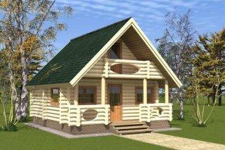 Деревянный дом – выбор ценителей экологичности и комфорта