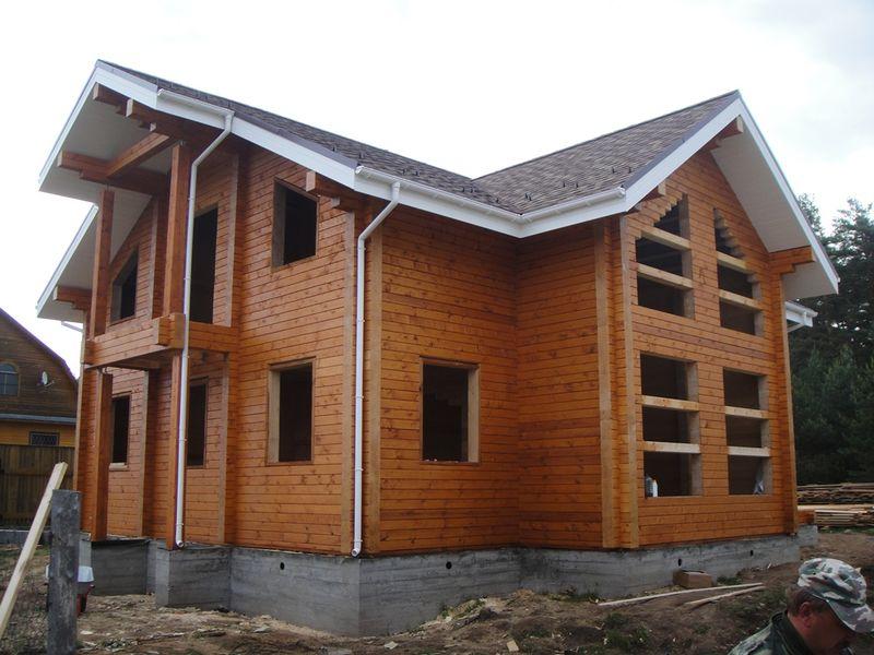 Tehnologija gradnje hiše iz profiliranega lesa