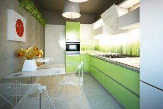 Кухня в экостиле: природа в вашем доме