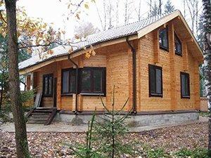 Преимущества домов из древесины